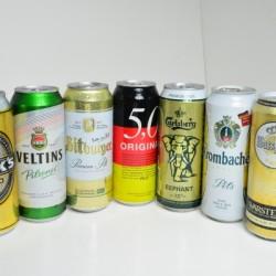Bier Sorten in Dosen